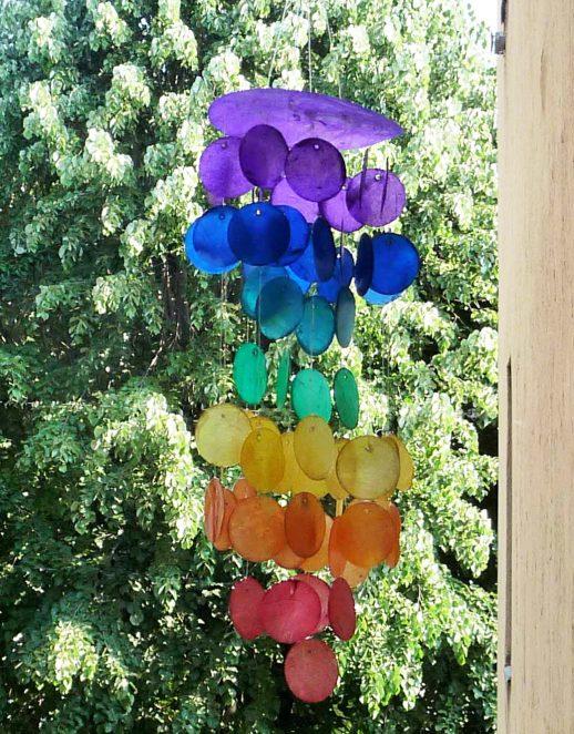 Šareno vjetreno zvono - malo