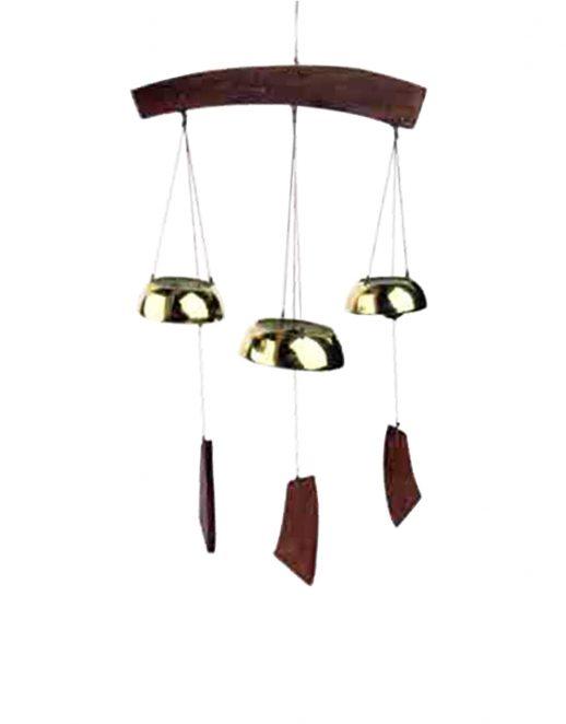 Meditacijsko-vjetreno-zvono-od-mesinga,-s-3-zvona